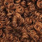 Волосы (кудри) для кукол,каштановые