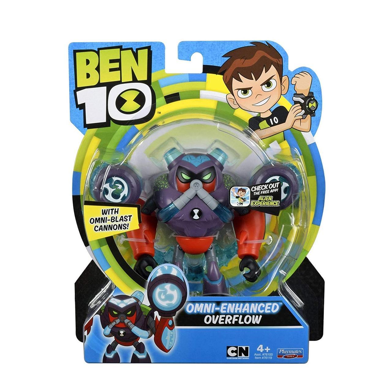 Бен 10 фигурка Водохлёст, омни-усилённый  Ben 10 Overflow Omni Enhanced