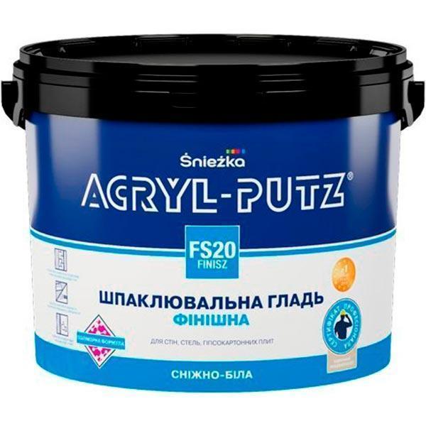 Акриловая финишная шпаклевка Sniezka Acryl-Putz 27кг