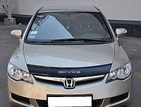 Дефлектор капота мухобойка HONDA Civic с  2006 г.в.седан