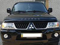 Дефлектор капота мухобойка Mitsubishi Pajero Sport (Montero Sport) с 1998-2007 г.в.