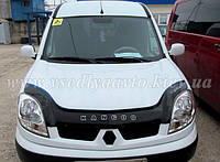 Дефлектор капота мухобойка Renault Kangoo с 2003-2008 гг.после ресталинга