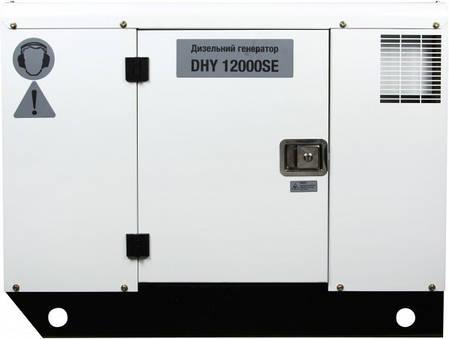 Генератор дизельный Hyundai DHY 12000SE, фото 2