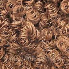 Волосы (кудри) для кукол,шатен