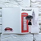 Обложка для паспорта Лондон, фото 3
