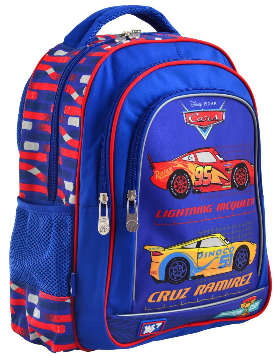 """Рюкзак школьный S-22 """"Cars"""""""