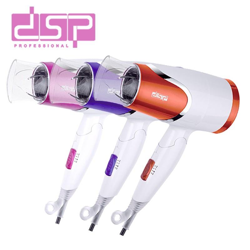 Фен для волос DSP 30077 1200 Вт со складной ручкой для путешествий