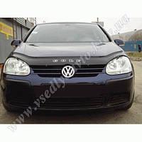 Дефлектор капота мухобойка  Volkswagen Golf-5 с 2003 г.в.