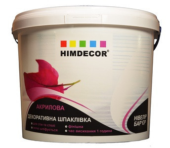 Акриловая финишная шпаклевка Himdecor СК-30 7.5кг