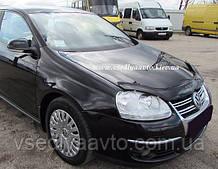 Дефлектор капота мухобойка  Volkswagen Jetta V с 2005–2010 г.в.