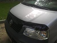 Дефлектор капота мухобойка Volkswagen Transporter T5 с 2005 г.в.