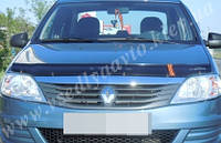 Дефлектор капота мухобойка  Renault Logan с 2005 г.в
