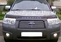 Дефлектор капота мухобойка Subaru Forester с  2005-2008 г.в.