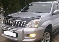 Дефлектор капота мухобойка Тойота Land Cruiser Pradо 120 с 2003–2009 г.в.