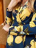 Женское летнее платье софт с принтами (2 цвета), фото 3