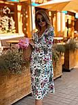 Женское летнее платье софт с принтами (2 цвета), фото 6