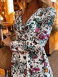 Женское летнее платье софт с принтами (2 цвета), фото 7