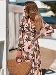 Женское летнее платье софт с принтами (2 цвета), фото 10