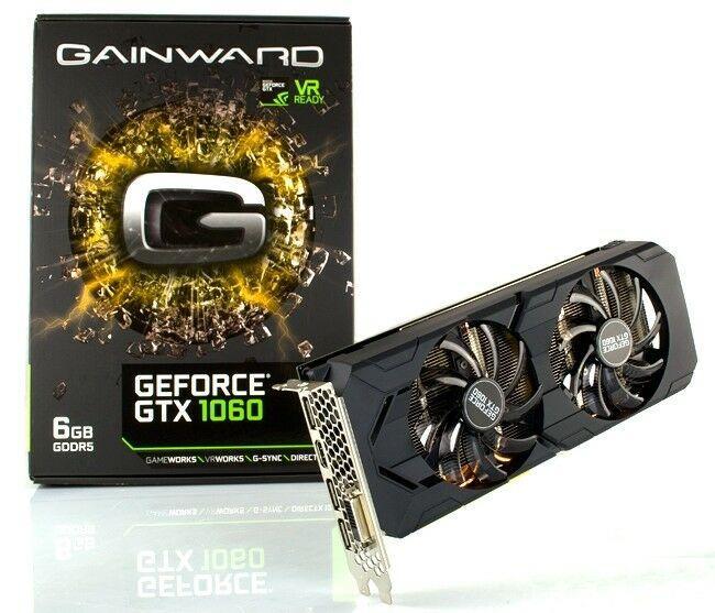 """Видеокарта Gainward GeForce GTX 1060 6GB (426018336-3712) """"Over-Stock"""" Б/У"""