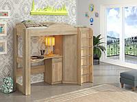 Двухэтажная кровать-чердак КЧО 144