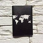 Обложка для паспорта Let's travel 2 (черный), фото 2