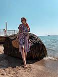 Женское летнее платье-рубашка в полоску (в расцветках), фото 7