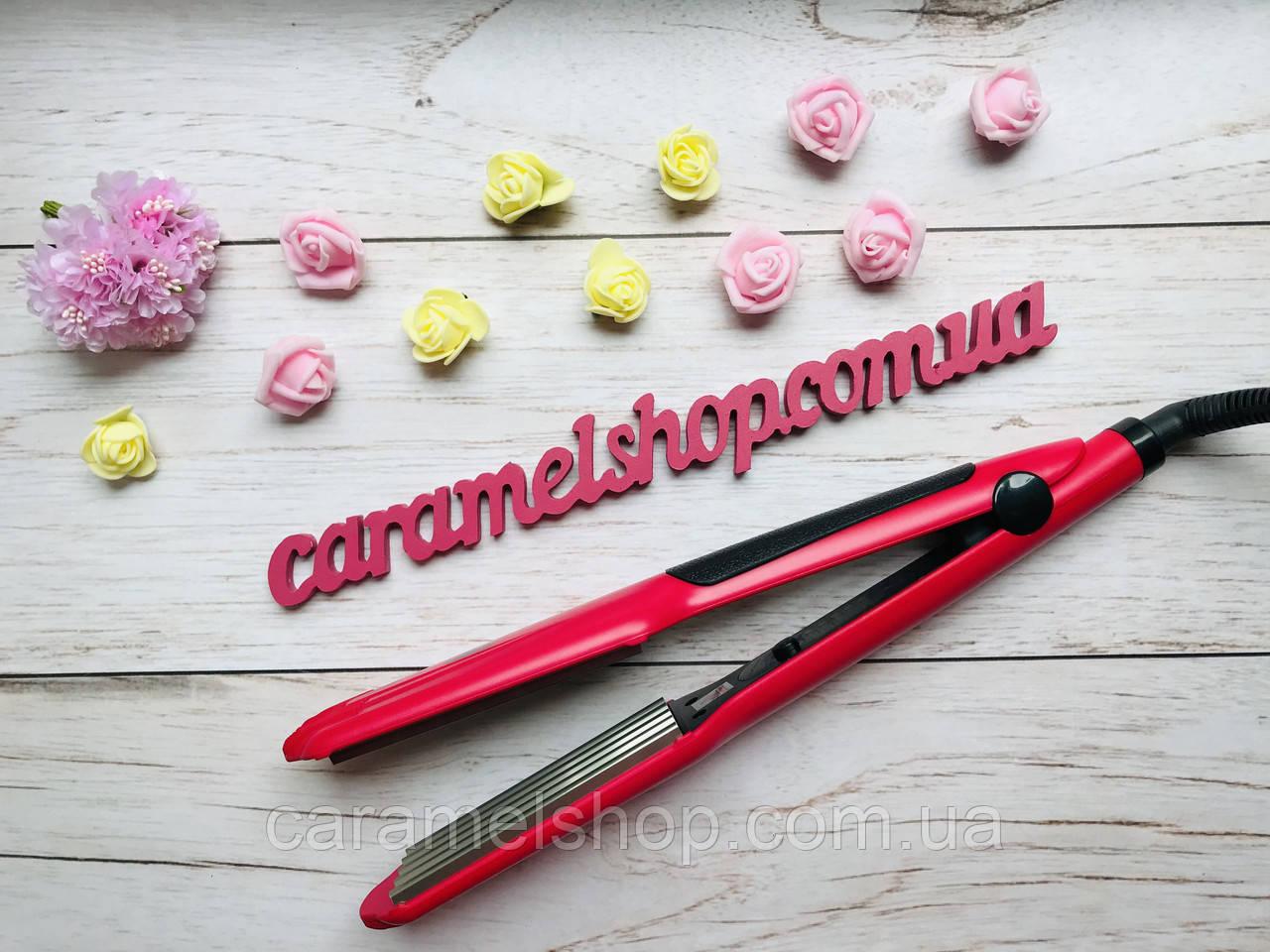 Плойка ГОФРЕ для волос Promotec PM-1221 керамика