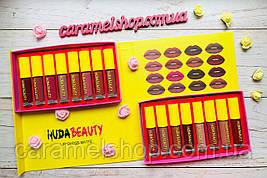 Набір рідких матових помад Помада Huda Beauty 16 штук 58040 репліка