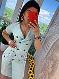 """Женское платье в стиле """"сафари"""" с поясом, фото 4"""