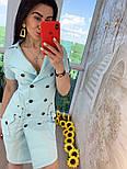 """Женское платье в стиле """"сафари"""" с поясом, фото 6"""