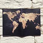 Обкладинка для паспорта Земля (чорний), фото 3