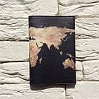 Обкладинка для паспорта Земля (чорний), фото 2