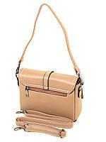 Женская сумка на плечо персиковая Alex Rai, фото 1