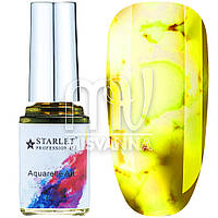Акварельные капли Aquarelle Art Starlet Professional №11, 12 мл желтые