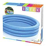 ✅Детский надувной бассейн Intex 58446 «Кристалл», 168 х 38, фото 4