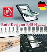 Мансардніе окна ROTO Designo R4 с окладом