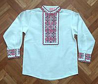 Дитяча вишиванка для хлопчика  домоткана 122р