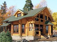 Дерев'яні будинки та  обрізні пиломатеріали із смереки