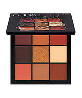 Палетка теней HUDA BEAUTY Warm Brown Obsessions Palette, фото 1