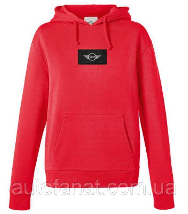 Оригінальна жіноча толстовка MINI Logo Patch Sweatshirt woman's, Coral (80142454945)