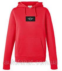 Оригинальная женская толстовка MINI Logo Patch Sweatshirt Woman's, Coral (80142454945)
