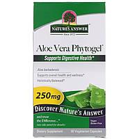 Nature's Answer, Фитогель алое-вера, 250 мг, 90 растительных капсул
