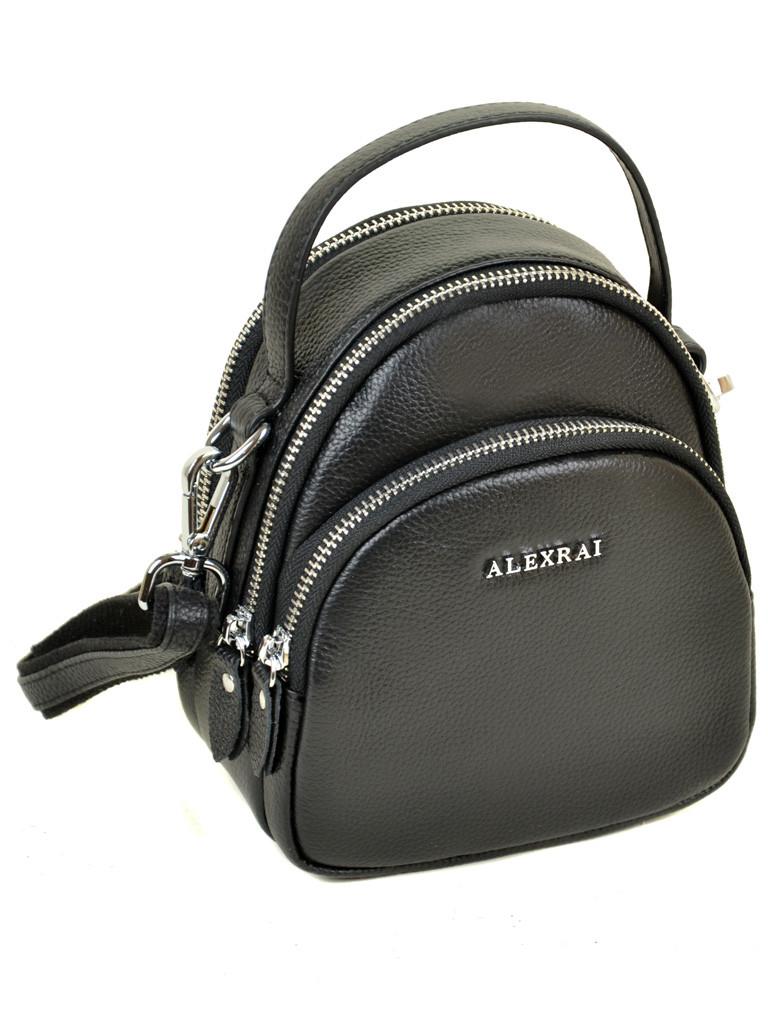 Летняя женская сумка черная Alex Rai