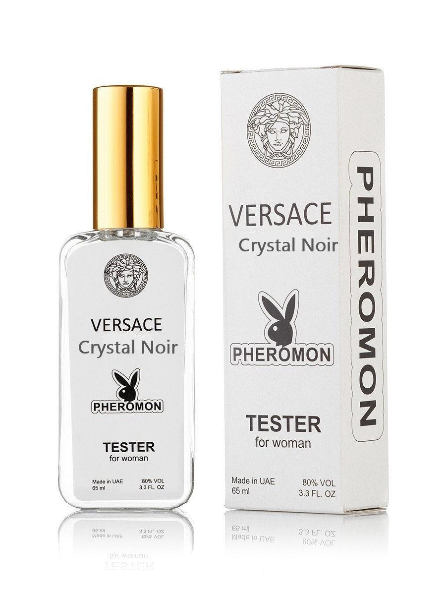 Тестер женский Versace Crystal Noir Pheromon, 65 мл