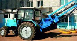 Траншеекопатель навесной на ЗНУ трактора (быстросменный)  ширина цепи 100-300 мм Блюминг