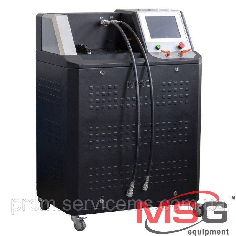 Стенд для диагностики компрессора автокондиционера MS111 хладагент R134a ЖК-дисплей