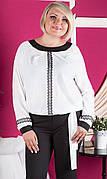 Нарядная блуза в этническом стиле №404