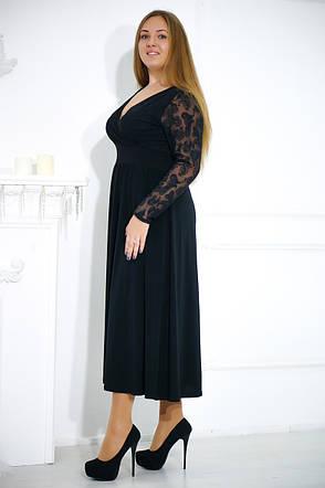 Стильное вечернее платье больших размеров №478, фото 2