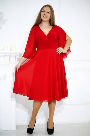 Элегантное вечернее платье больших размеров №480, фото 2