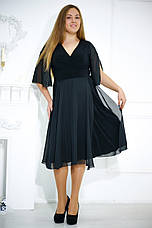 Элегантное вечернее платье больших размеров №480, фото 3
